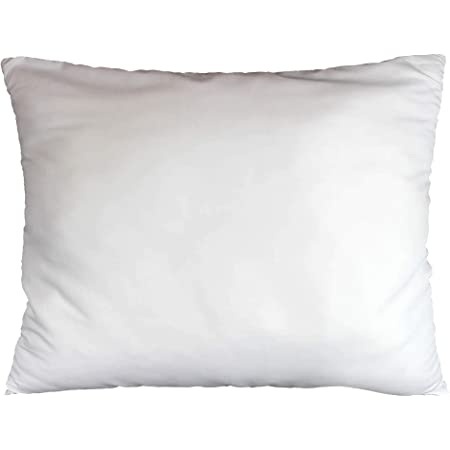 douceur d'intérieur 1641345 Oreiller Uni Confort Polyester Imprimé 50 x 70 cm