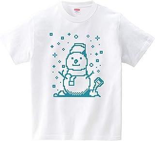 雪だるま君(Tシャツ?ホワイト) (犬田猫三郎)
