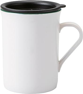 竹中 日本製 竹中 マグカップ グラシアストーン フタ付 ロング グリーン 300ml T-76414