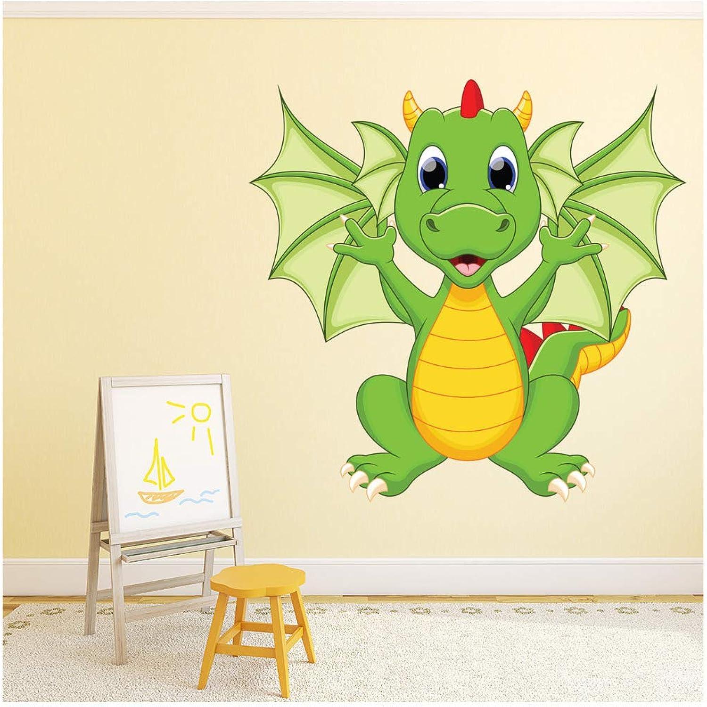 Dragon Wall Sticker Monster Wall Decal Bedroom Nursery Home Decor ...
