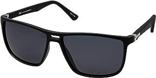 نظارات نمط رترو 5027 C:1 للرجال لون اسود (لون واحد)، (مستقطبة)