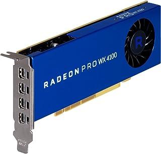 HP AMD Radeon Pro WX 4100 4GB FirePro W4100 GDDR5 - Tarjeta gráfica (FirePro W4100, 4 GB, GDDR5, 128 bit, 5120 x 2880 Pixeles)