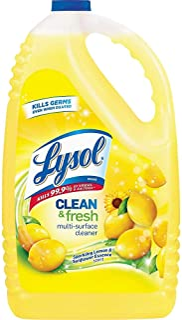 Lysol Clean & Fresh Multi-Surface Cleaner, Lemon & Sunflower, 144oz
