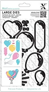 DOCrafts Xcut Decorative Dies-Balloons, Large