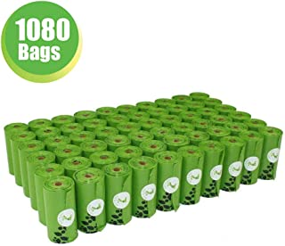 PET N PET Poop Bags Earth-Friendly 1080 Counts 60 Rolls...