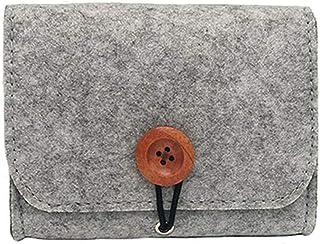 HAYA Essential Oil Carrying Case bag for 6 Bottles, 5-15ML Essential Oils Travel Organizer Storage Pouch Bag