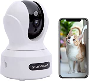 Indoor Security Camera,Home Security Camera 1080P HD,Pan/Tilt/Zoom WiFi Surveillance Camera (2.4G Only) ,Wireless Home Baby Cam w/App,Sound Motion Detection,2-Way Audio,Works with Alexa,Night Vision