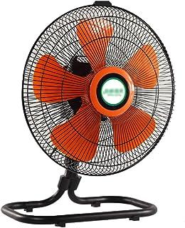 Ventilador Eléctrico Portátil/Ventilador Industrial/Ventilador de Piso/Ventilador de Circulación de Aire, Fácil Operación con 4 Velocidades y Cabezal de Ventilador Ajustable
