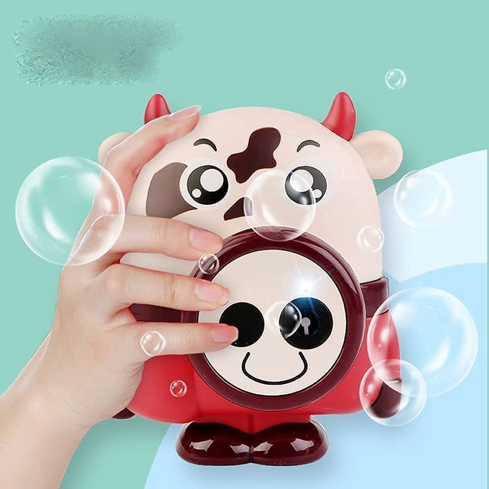 ZHZHUANG Ranking TOP18 Max 79% OFF Bubble Hine Cartoon Automati Portable Maker Cow