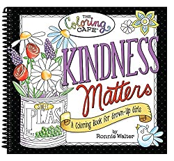 Coloring Books for Seniors Kindness Matters