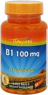 Thompson Vitamin B 1, Tablet (Btl-Plastic) 100mg   30ct