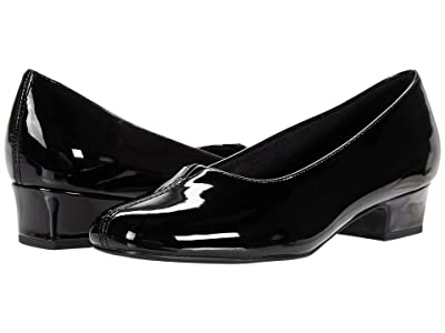 Trotters Doris (Black Patent) Women