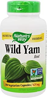 Nature's Way, Wild Yam - 180 vegicaps