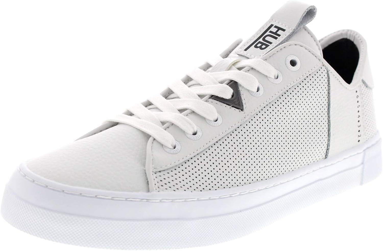 Hub Footwear Hook L31 - Herren Schuhe Turnschuhe - Weiß