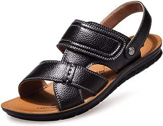 FASHPOOYS Men's Velcro Sandals Fashion Casual Shoes