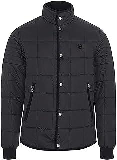 merc Mens London Briar Padded Quilted Fashion Jacket - Black