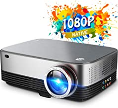 $249 » VIVIMAGE C680 Native 1080p Led Projector, 5500 Lux Full HD Home Theater Movie Projector Compatible with TV Stick, HDMI, VGA, USB, Laptop, iPhone Android for PowerPoint Presentation