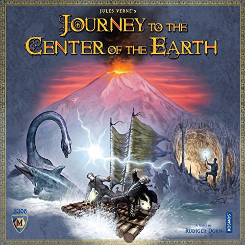Mayfair - Journey to The Centre of The Earth, Gioco da Tavolo [Lingua Inglese]