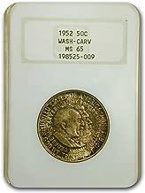 1952 Washington-Carver Half Dollar MS-65 NGC Half Dollar MS-65 NGC