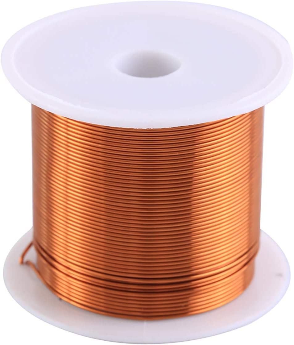 SQINAA Magnet Wire Enamelled Repair Wire 1100Inch Length 3 Diameters Can Be Selected,0.15mm