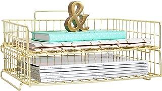gold paper organizer