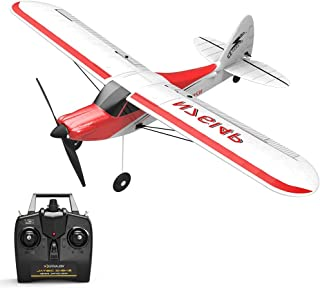 BLACKOBE RC Plane, Remote Control Airplane Glider 761-4, 4CH Built In Gyro System, Easy, Ready to Fly, Safe Technology Aircraft for Beginners to Expert, Kids over 14, Christmas Halloween New Year Gift
