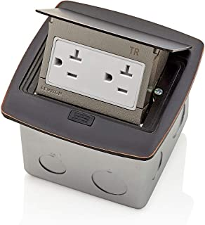 pop up receptacles counter leviton