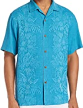 Tommy Bahama Kamari Border Silk Camp Shirt