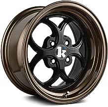 Klutch SL2 Custom Wheel Bronze - with Gloss Black Face 15