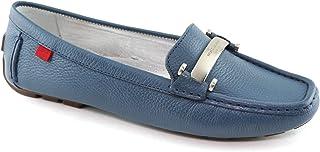 حذاء MARC JOSEPH NEW YORK نسائي من الجلد الغربي فيليدج Loafer نمط القيادة