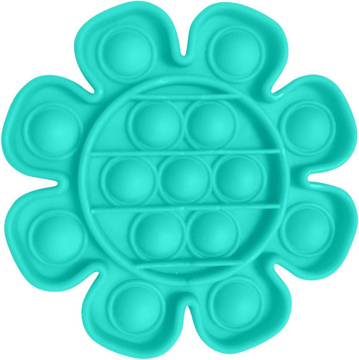 Push Pop Bubble Sensory Fidget Toy Autismo Necesidades Especiales Aliviador de Estr/és Aliviar el Estr/és Exprime Juguete Sensorial