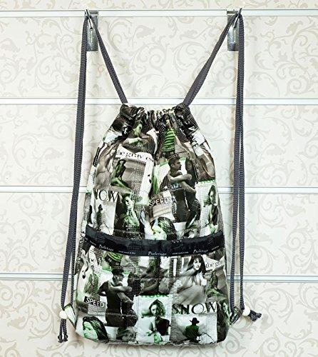 Rucksack Beutel Matchsack Turnbeutel von Beletage Steppstoff Fashion HM
