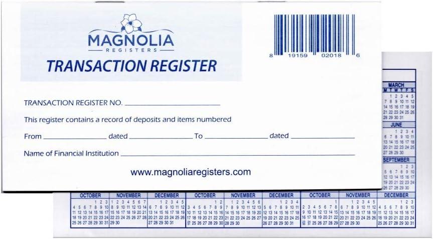 NEW before selling ☆ 50 trust Checkbook Registers 2021-2022-2023 Calendars