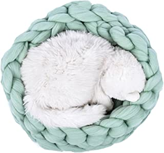 Best chunky knit cat bed pattern Reviews