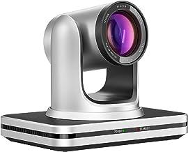Jimcom PTZ Camera HDMI/USB, PTZ Live Streaming Camera Plug-and-Play,PTZ Conference Room Camera for Zoom/Skype/OBS Supports