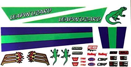 Leaping Lizard Pinewood Derby Decals