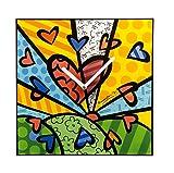 Goebel Pop Art A New Day - Wanduhr Bunt