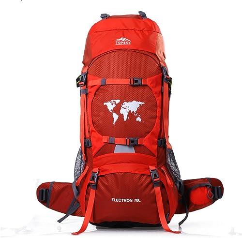 Topsky Grand sac à dos étanche 70 l pour randonnée
