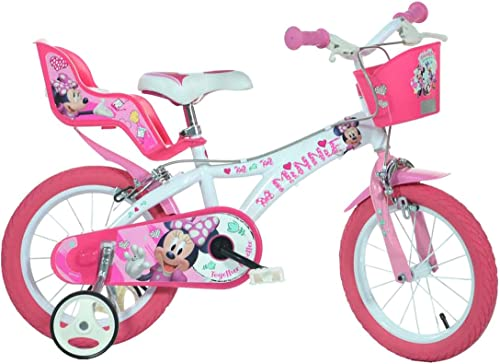 Dino Bike 616-NN, Minni Mouse, Kinderfahrrad 16 Zoll
