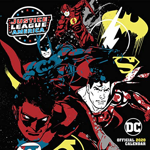 DC Comics Calendario oficial Calendario pared 2020 para Unisex multicolor Papel