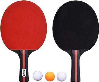 iheyfill Tafeltennisset, tafeltennisbatjes + 3 tafeltennisballen + tafeltennisbatjes, pingpong-batjes, tafeltennisbatjes, ...
