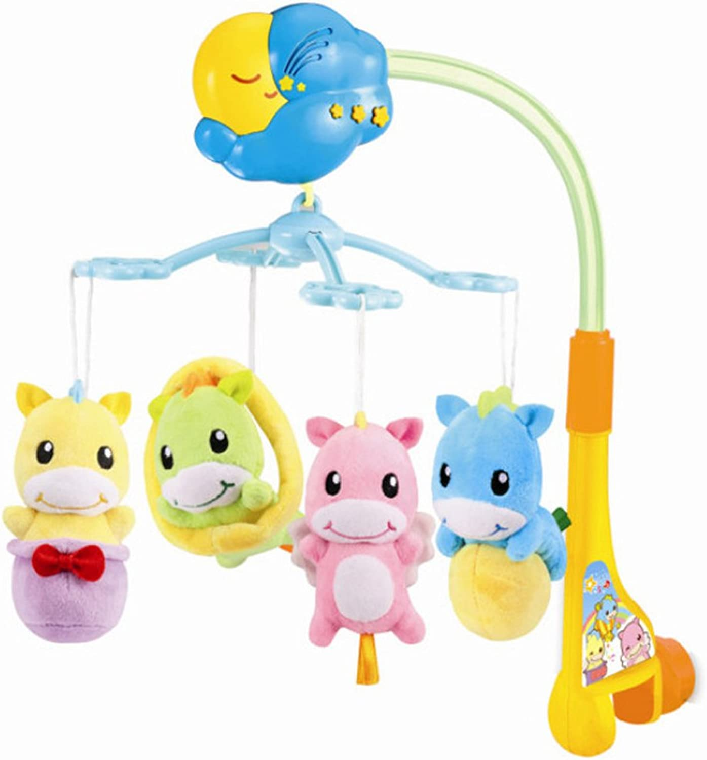 Auby Baby Crib Bell Toy Toddler Mobile Nursery redatable Musical Bed Bell