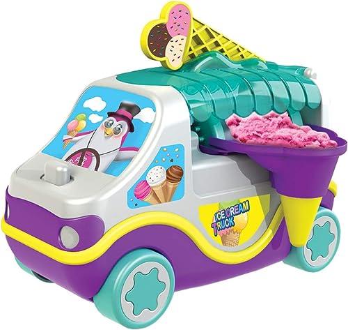 en venta en línea Amav Amav Amav Maletín de camión de los Helados máquina Kit para Niños Kit para Hacer tu Propio Helado en Movimiento con un Verdadero Ice-Crean camión.  en linea