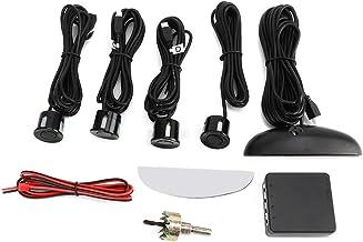 $28 » Smart Car Parking Radar System,4 Sensor Parking Assistance System Probe w/LED Display Auto Reverse Rear Radar 80dB Alert Kit