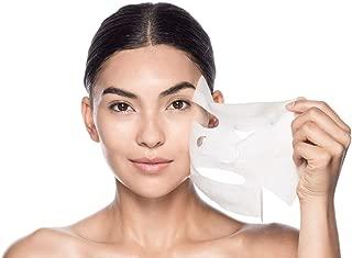 Sweet Pea DIY Makeup Skin Care Enlarged Cotton Facial Masks Sheets, 100 Pieces (White)