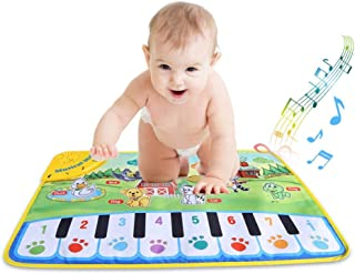 YOUTHINK Piano Musical Mat for Baby,Musical Keyboard Play Ma
