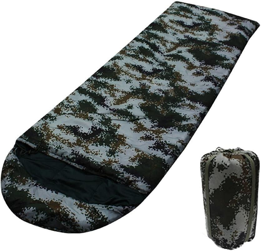 Wwenli Outdoor Max 83% OFF Sleeping Bag Camouflage Cotton Ba Hollow Philadelphia Mall