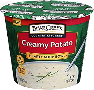 Bear Creek Hearty Soup Bowl, Creamy Potato, 1.9 Ounce (Pack of 6)
