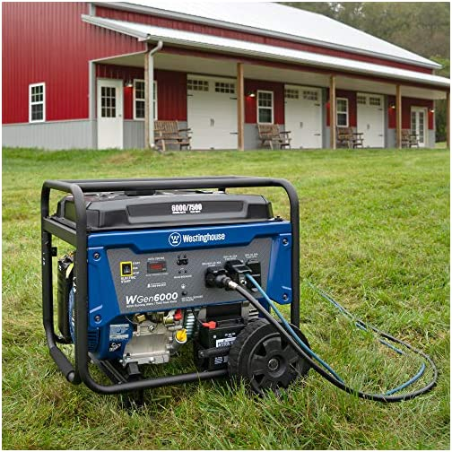 Westinghouse WPro12000 Ultra Duty Industrial Portable Generator - 12000 Rated Watts & 15000 Peak Watts - Gas Powered - Electric & Remote Start - OSHA & CARB Compliant 4