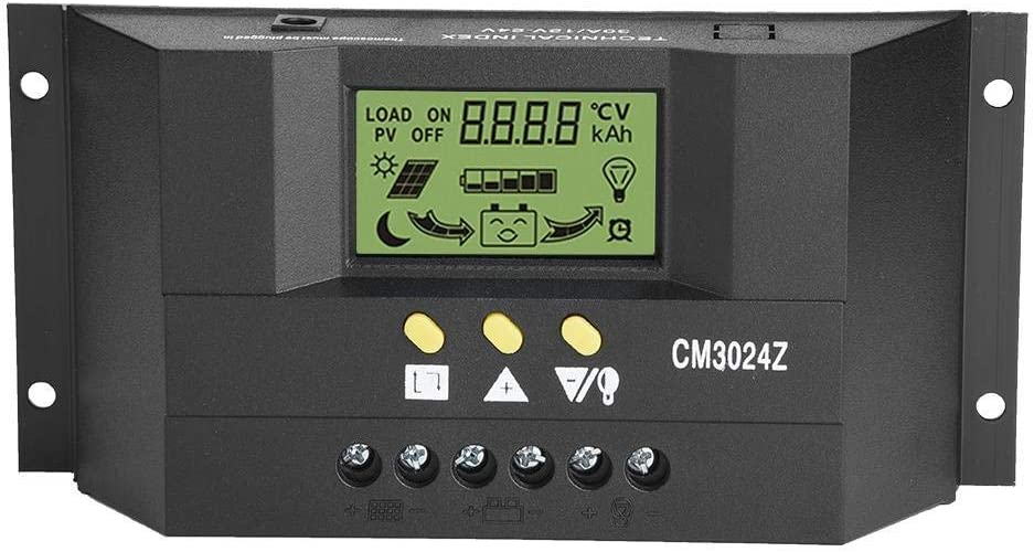 PAJKWW WCY Solar Charge Controller PWM Financial Super popular specialty store sales sale Intelligent C Panel